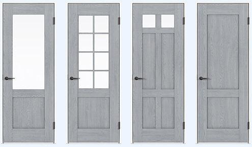 トラディショナルスタイルのデザインドア