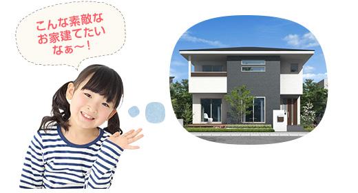 ステップ1 建てたいお家のイメージ作り
