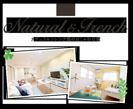 貝塚市 東山モデルハウス ナチュラルフレンチ風のおしゃれな家